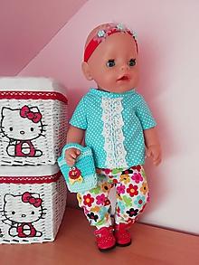 Hračky - Oblečenie pre bábiku Baby born v 43 cm - 12196318_