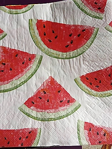 Papier - servítky 1740 ovocie (1476c) - 12196218_