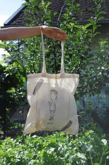 Nákupné tašky - Plátenná eko taška irónia - 12196646_
