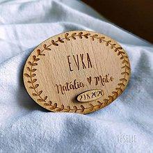 Darčeky pre svadobčanov - Opravný dátum na magnetky - 12198073_