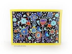 Papiernictvo - NOČNÁ LÚKA ♥ klasická pohľadnica - 12198627_