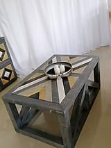 Nábytok - Konferenčný stolik - 12198517_
