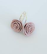 Náušnice - Náušnice Ružový popol - 12198328_