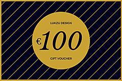 Darčekové poukážky - Darčeková poukážka v hodnote 100€ - 12200831_