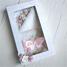 Papiernictvo - Svadobná pohľadnica +krabička - 12201189_