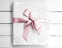 Papiernictvo - Brokátový fotoalbum - 12198873_
