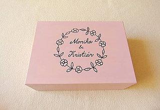 Krabičky - Drevená krabička- rezervácia - 12200444_
