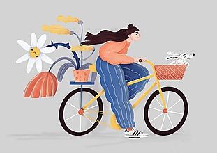 Grafika - I want to ride my bicykle - 12198903_