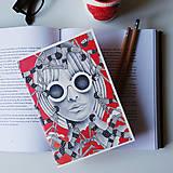 Linajkový zápisník pre kreatívne duše