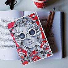 Papiernictvo - Linajkový zápisník pre kreatívne duše - 12200698_