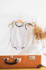Detské oblečenie - Overal Pinky - 12200889_