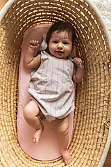 Detské oblečenie - Overal Pinky - 12200893_