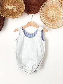 Detské oblečenie - Overal White - 12200915_