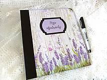 Papiernictvo - Objednávkovník - zápisník na objednávky Levanduľa - 12200136_