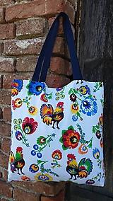 Nákupná taška  (Kohútik - modrý)