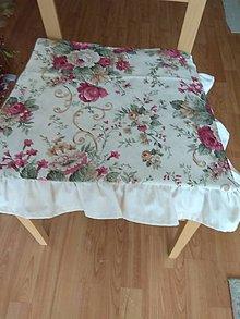 Úžitkový textil - Podsedák na stoličku - 12202285_