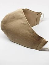 Rúška - Bavlnené rúško na tvár - všetky veľkosti (Pánske dvojvrstvové) - 12201633_