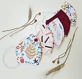 Rúška - Dizajnové bavlnené rúško - Autumn - 12202847_