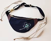 Kabelky - Ľadvinka Four leaf (štvorlístok) - bavlna + dubový korok - 12202900_