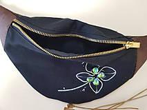 Kabelky - Ľadvinka Four leaf (štvorlístok) - bavlna + dubový korok - 12202919_