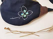 Kabelky - Ľadvinka Four leaf (štvorlístok) - bavlna + dubový korok - 12202924_