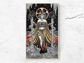 Kresby - Obraz Bohyňa (print) - 12201512_