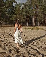 Šaty - Šaty s otvoreným chrbtom in white (S) - 12202882_