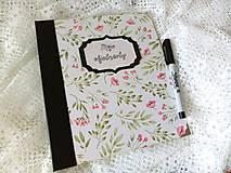 Papiernictvo - Objednávkovník - Zápisník na objednávky Kvety - 12201508_