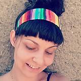 Ozdoby do vlasov - Rainbowka čelenková - 12205333_