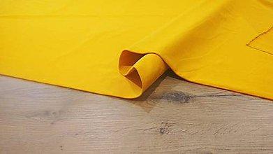 Textil - Teplákovina - cena za 10 cm (Žltá) - 12205955_