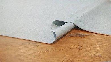 Textil - Teplákovina - cena za 10 cm (Šedá Svetlá) - 12205960_