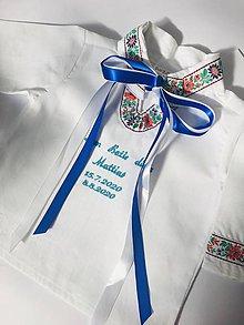 Detské oblečenie - Krstová košieľka 4 - 12203835_