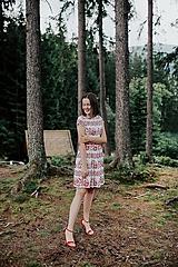 Šaty - krátke šaty potlač Sága krásy - 12203871_