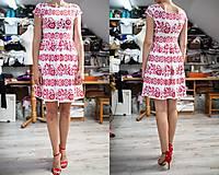 Šaty - krátke šaty potlač Sága krásy - 12203873_