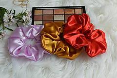 Ozdoby do vlasov - Set elegantných gumičiek - 12205532_
