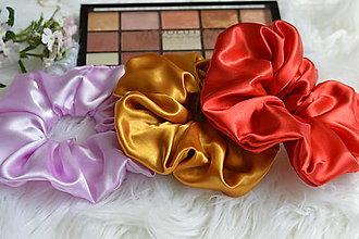 Ozdoby do vlasov - Set elegantných gumičiek - 12205531_