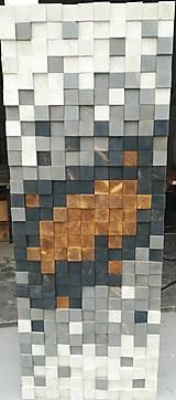 Nábytok - Posuvné dvere mozaika - 12205540_