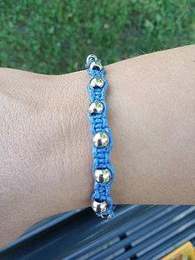 Šperky - Pánsky Shamballa náramok - 12205089_