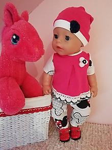 Hračky - Oblečenie pre bábiku Baby born v 43 cm - 12208036_