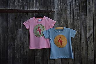 Detské oblečenie - Píískacie tričko na objednávku - 12206582_