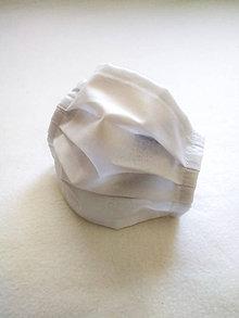 Rúška - Tenké bavlnené rúško antibakteriálne - 12206139_
