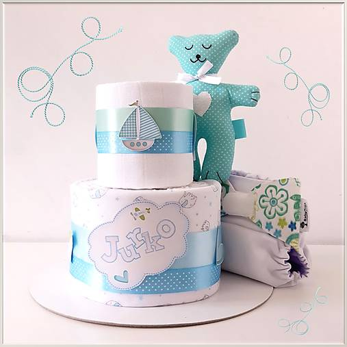 Plienková torta látková