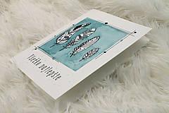 Papiernictvo - Pohľadnica pierka - 12206700_