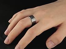 Prstene - Ryhovaný prsteň - 12208440_