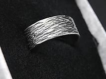 Prstene - Ryhovaný prsteň - 12208442_