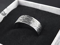 Prstene - Ryhovaný prsteň - 12208443_