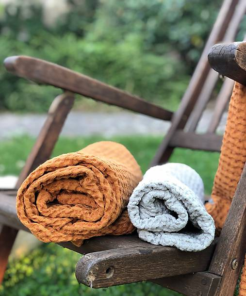 Úžitkový textil - Ľanové uteráky - 12207744_