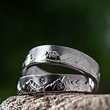 Prstene - Láska hory prenáša ... /verzia v zlate/ - 12210940_