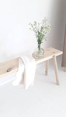 Nábytok - Lavica - stolík k&m dizajn - 12209279_