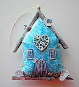 Dekorácie - Azúrový domček - 12211415_
